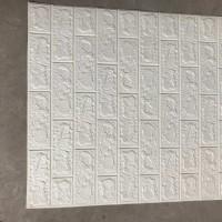 wallpaper 3D batu bata 70x38.5cm