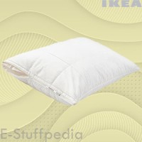 Cover/Sarung Bantal IKEA-ANGSKORN 50x80 cm Katun Lyocel Halus