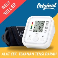 Alat Cek Pengukur Tekanan Tensi Darah Digital Tensimeter Sphygmomanome