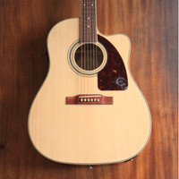Epiphone AJ-220SCE Acoustic/Electric Guitar Rosewood Neck - Natural