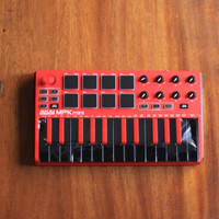 Akai Professional MPK mini MKII Controller Limited Edition Red