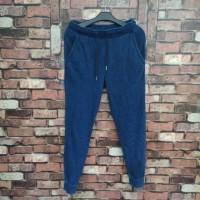 celana UNIQLO GU Jogger Original sweatpants, trackpants, training