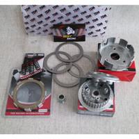 Rumah Kopling Set Komplit Kaki [4] Vega ZR / Jupiter Z1 -TDR Racing
