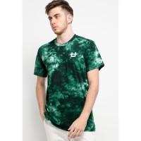 MTH47 thirdday tie dye green black logo dakir t-shirt unisex pria