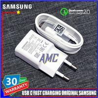 Charger Samsung A20 A30 A50 ORIGINAL 100% Fast Charging USB C - Hitam