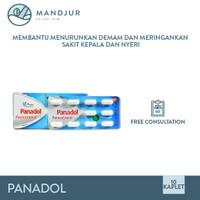 Panadol - Obat Penurun Panas, Pereda Nyeri, Sakit Kepala, Sakit Gigi