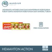 Hemaviton Action - Suplemen Penambah Stamina, Tenaga, dan Energi