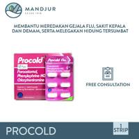 Procold - Meredakan Flu, Hidung Tersumbat, Sakit Kepala, Demam