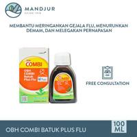 OBH Combi Batuk Plus Flu - Meredakan Batuk, Flu, dan Demam