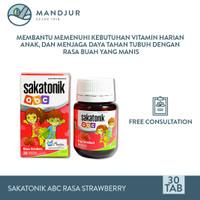 Sakatonik abc Rasa Strawberry - Multivitamin Pertumbuhan Anak