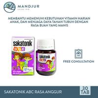 Sakatonik abc Rasa Anggur - Multivitamin Pertumbuhan Anak