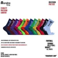 Monstre Grip Socks Half (Kaos Kaki Anti Slip)