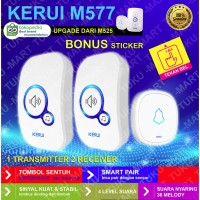 DOOR BELL KERUI 1 transmitter 2 receiver