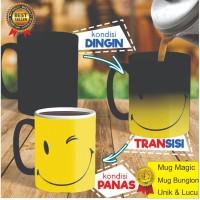Mug Bunglon Custom, Mug Magic, Mug Hadiah |Kado Ultah, Kado Unik