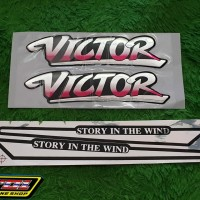 Striping Victor story in the wind