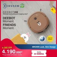 DEEBOT U3 LINE FRIENDS Brown Edition Robot Vacuum Cleaner Vacum