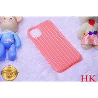 Oppo A12| A91 | A92/A52/A72 TPU Line Case Koper Polos Korean Candy