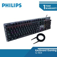 Philips Keyboard Gaming MechanicalG-404 2.4 GHz