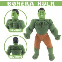Boneka Hulk Avengers Superhero Series Stuffed Plush Doll