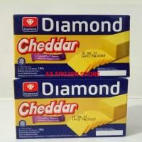 Keju Cheddar Diamond 180gr / Diamond Cheddar 180gr