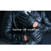 Sarung Tangan Kulit Asli Metropolis Bikers Gloves Leather CRAFT 015