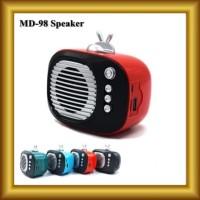 Speaker Bluetooth Wireless MD-98 Mega Bass