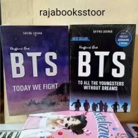 buku 2 paket novel BTS to all the youngsters without dreams + BTS tody