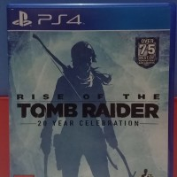 DVD Kaset PS4 Tomb Rider