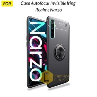 Case Realme Narzo Autofocus Invisible Iring Soft Case
