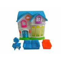 Mainan Villa Set dan Perabotan