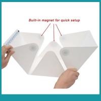 Sos Kotak Studio Foto Mini Lipat dengan Lampu