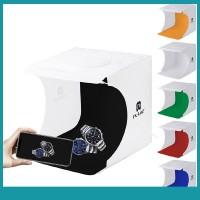 Sos Kotak Backdrop Foto Studio Lipat Mini Lampu LED Bahan PVC