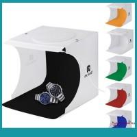 Sos Kotak Studio Foto Mini Portable dengan Lampu LEDKabel