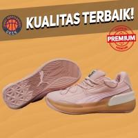 Sepatu Basket Sneakers Puma Clyde Hardwood Natural Misty Rose Pink