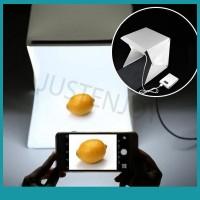 Sos Kotak Studio Foto Mini dengan Lampu Backdrop 9 untuk