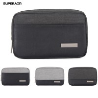 Superain Home Data Cable Earphone Power Bank Phone Storage Bag