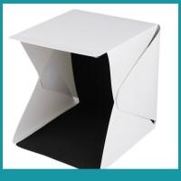 Sos Kotak Studio Foto Mini dengan Lampu LED
