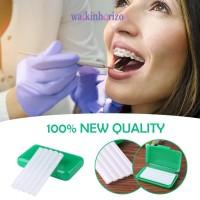 Wa 5pcs pak Wax Orthodontic Dengan Aroma Untuk Mencegah Iritasi Gus TG