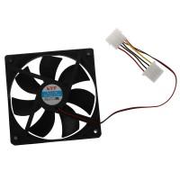 Bayar Di Tempat semoic Computer PC Case 4 Pin Cool Cooler Cooling TG