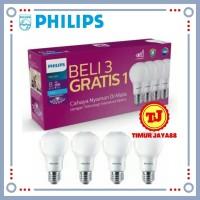 Lampu LED Bulb Bohlam PHILIPS Paket 8 watt Mycare Pack 8w Multipack