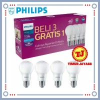 Lampu LED Bulb Bohlam PHILIPS Paket 10 watt Mycare Pack 10w Multipack