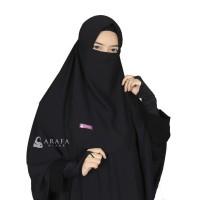 Cadar Tali Wolfis Premium - Arafa Hijab - Hitam