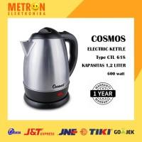 COSMOS CTL 618 - ELECTRIC KETTLE CORDLESS 1,2 LT 600 WATT / CTL618