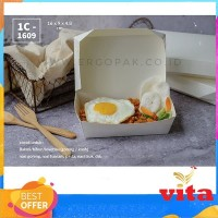 Ergopak IC-1609 Paper Box Container Take Away 100pcs