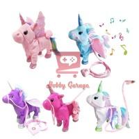 Mainan Anak Boneka Unicorn Music Pony Goyang Jalan - Dance Walking
