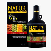 Natur Olive Oil & Vitamin E Shampoo 140ml