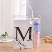 M01 Transparent PVC Bag Shopping Bag Tote Bag 20*30*8