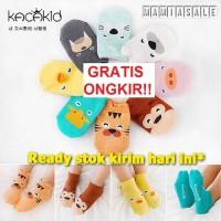 KAOS KAKI 3D korea bayi anak motif binatang lucu keren anti slip