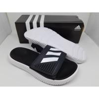 Sandal Adidas Alphabounce Slide Ftwwht / Cblack / Ftwwht Size 36-45
