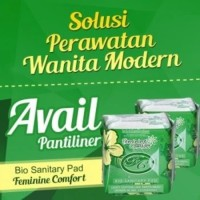 Pembalut Pantiliner AVAIL Hijau Anti Keputihan Dan Higienis Wanita